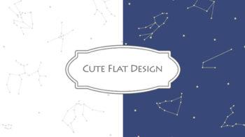 画像)可愛いフラットデザインを考える(6/24追記)
