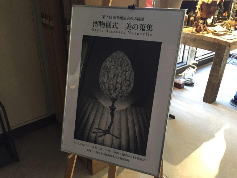 画像)神保町に現れた『博物蒐集家の応接間』にお邪魔してきた